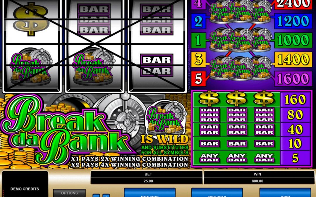 Break Da Bank Online Casino Slot