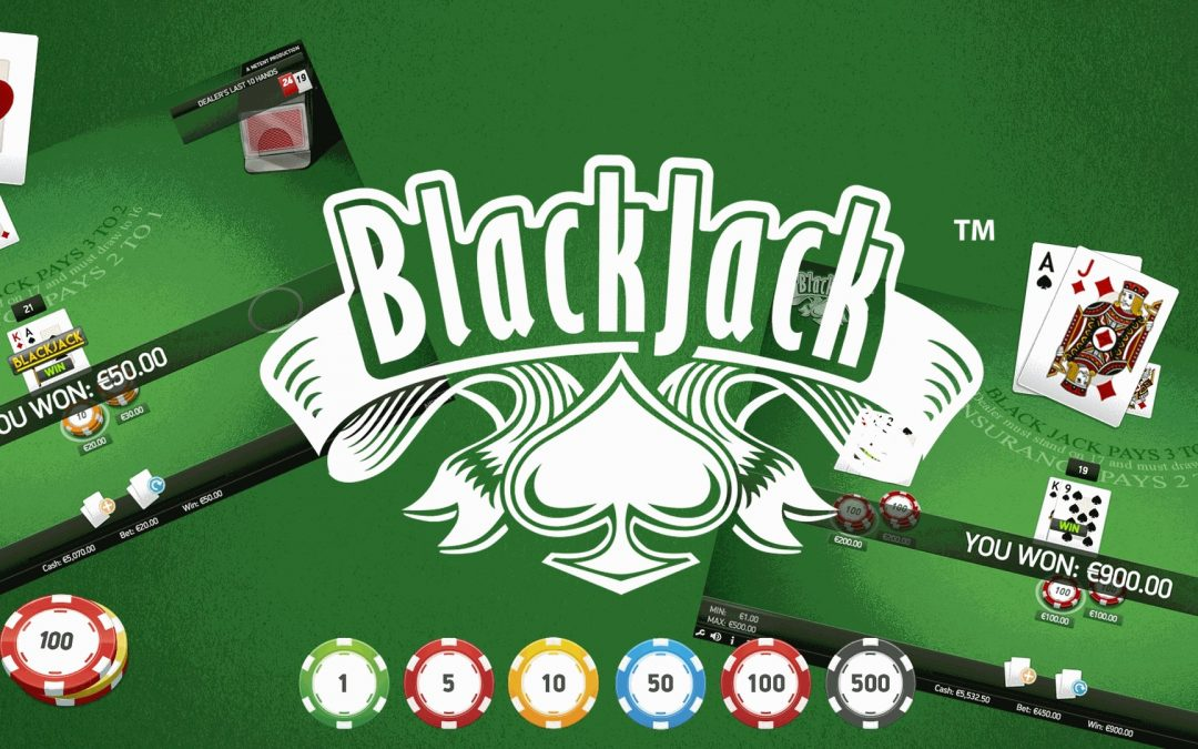 Strategies of bets for the reimbursement in Blackjack